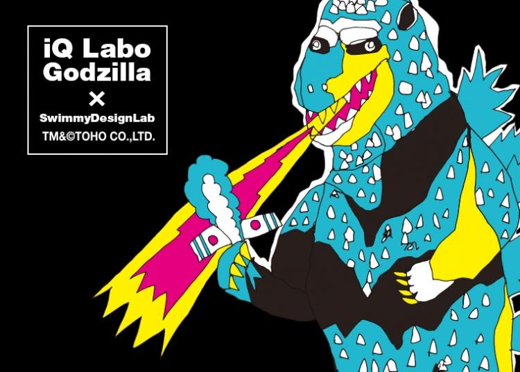 往年のゴジラの映画作品のポスターをSwimmyDesignLabアートディレクター吉水卓がリライトし