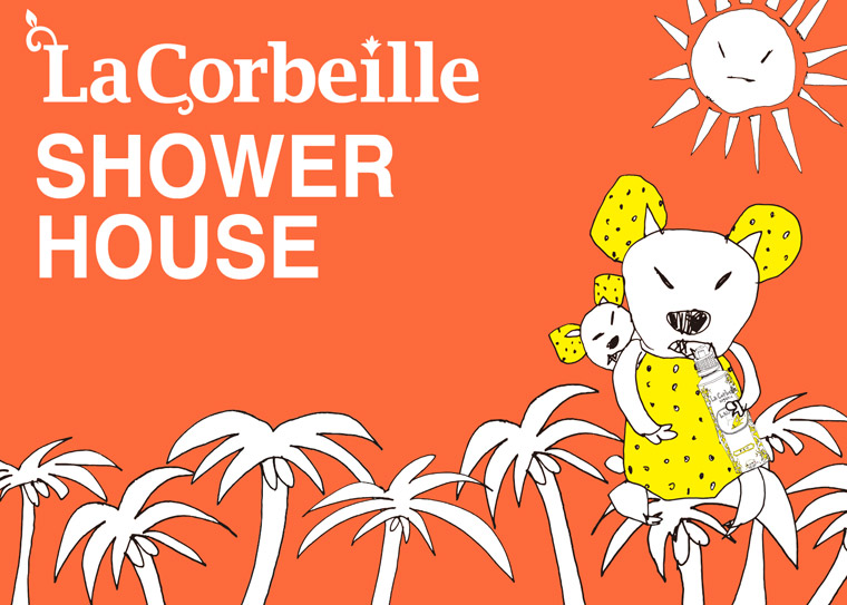 La Corbeille × SwimmyAnimalLab Shower Room